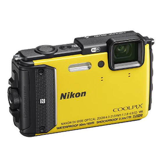 Appareil photo compact ou bridge Nikon Coolpix AW130 Jaune