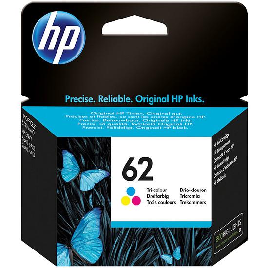 Cartouche imprimante HP Cartouche d'encre n°62 (C2P06AE) - 3 Couleurs
