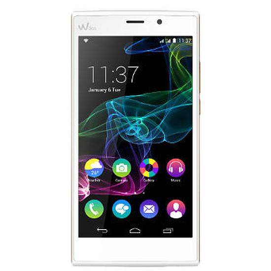 Smartphone et téléphone mobile Wiko Ridge FAB 4G (blanc)