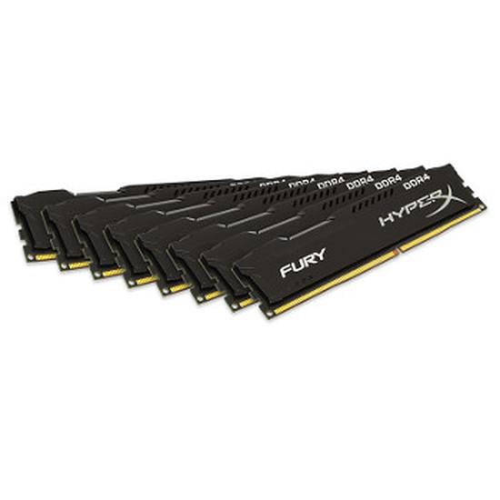 Mémoire Kingston HyperX Fury DDR4 8 x 8 Go 2133 MHz CAS 14
