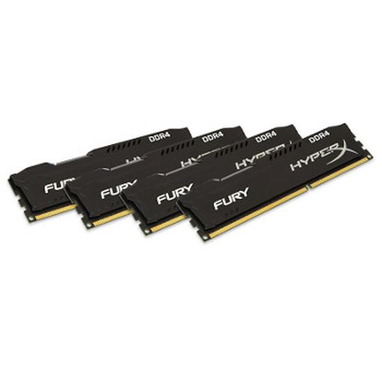 Mémoire HyperX Fury DDR4 4 x 8 Go 2666 MHz CAS 15
