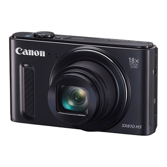Appareil photo compact ou bridge Canon PowerShot SX610 HS Noir