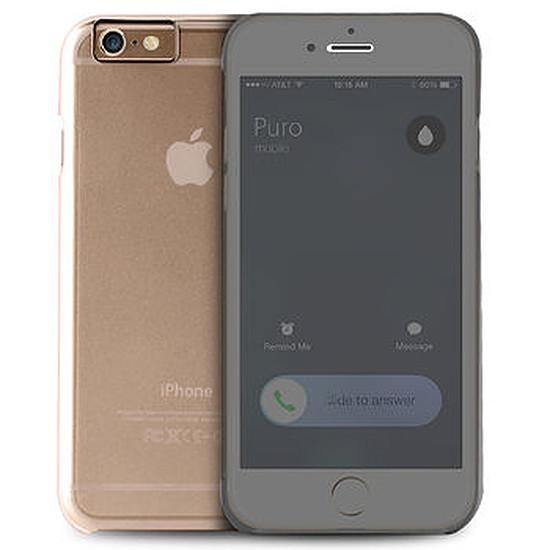 Coque et housse Puro Folio booklet case (transparent) - iPhone 6/6s