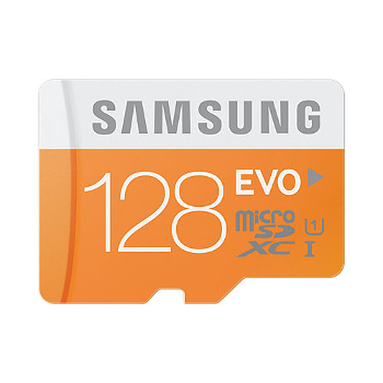 Carte mémoire Samsung Evo Micro SDXC 128 Go (48Mo/s)