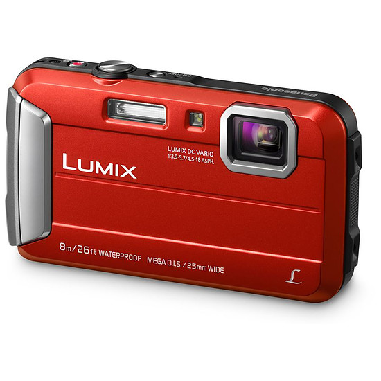 Appareil photo compact ou bridge Panasonic Lumix DMC-FT30 Rouge