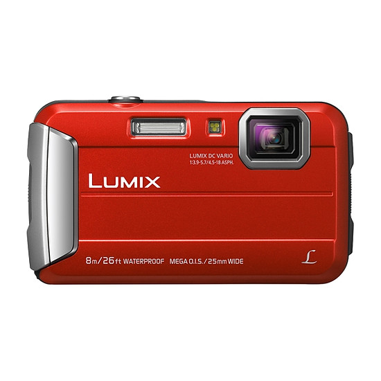 Appareil photo compact ou bridge Panasonic Lumix DMC-FT30 Rouge - Autre vue