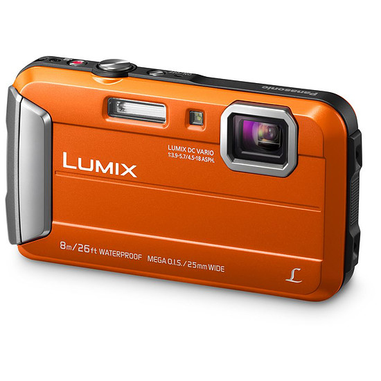 Appareil photo compact ou bridge Panasonic Lumix DMC-FT30 Orange