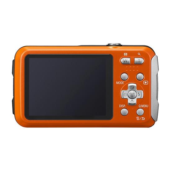 Appareil photo compact ou bridge Panasonic Lumix DMC-FT30 Orange - Autre vue