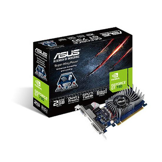 Carte graphique Asus GeForce GT 730 - 2 Go (G-DDR5)