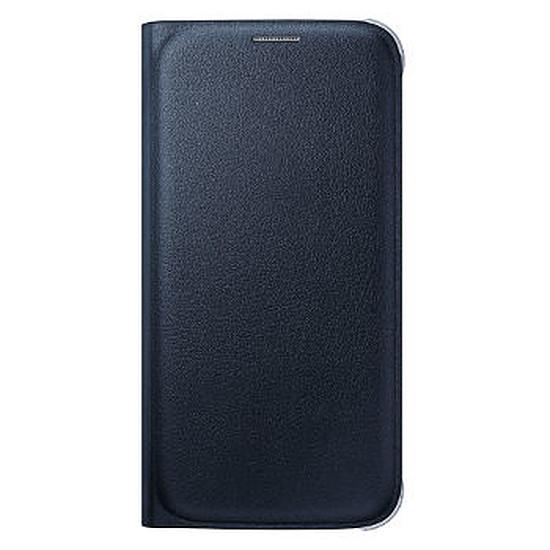 Coque et housse Samsung Etui Wallet Cover (noir) - Galaxy S6 Edge