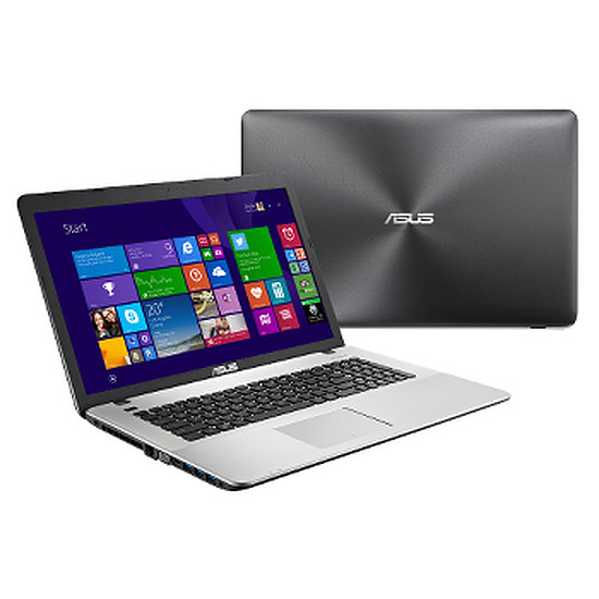 PC portable Asus R752LX-T4041H - i7 - 1 To - GTX 950M - Full HD