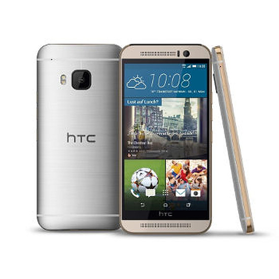 Smartphone et téléphone mobile HTC One M9 (silver)
