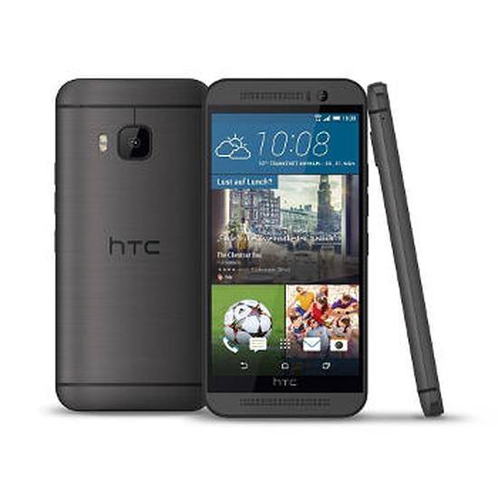 Smartphone et téléphone mobile HTC One M9 (gris acier)