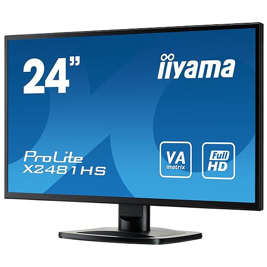 Écran PC Iiyama X2481HS-B1  - Autre vue