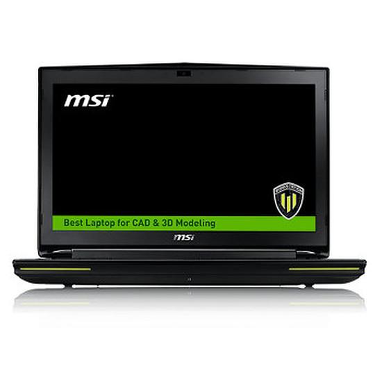 PC portable MSI WT72 2OM-1034FR - i7 - Quadro - SSD