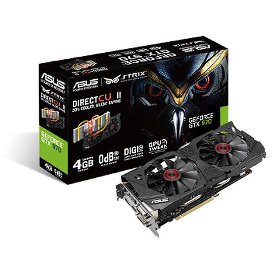 Carte graphique Asus GeForce GTX 970 STRIX - 4 Go
