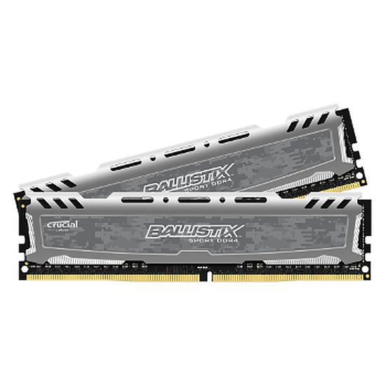 Mémoire Ballistix Sport LT DDR4 2 x 8 Go 2400 MHz CAS 16 DR