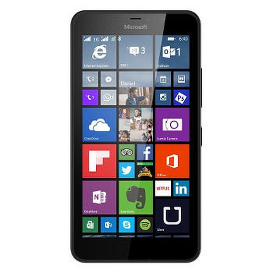 Smartphone et téléphone mobile Microsoft Lumia 640 XL (noir) - Double SIM