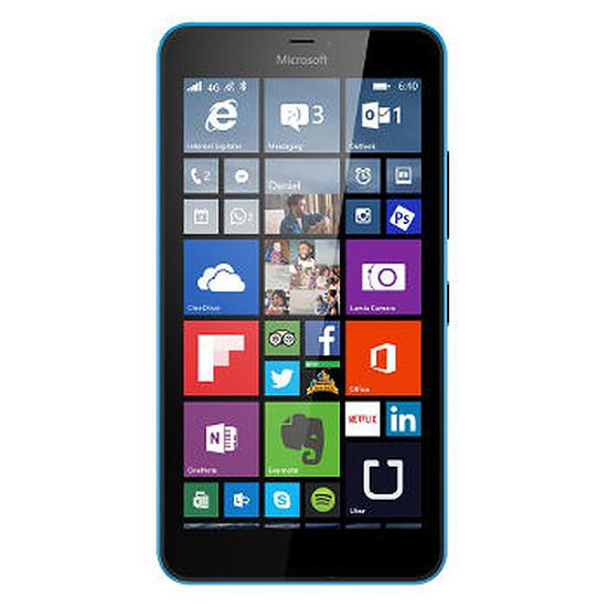 Smartphone et téléphone mobile Microsoft Lumia 640 XL (cyan) - Double SIM