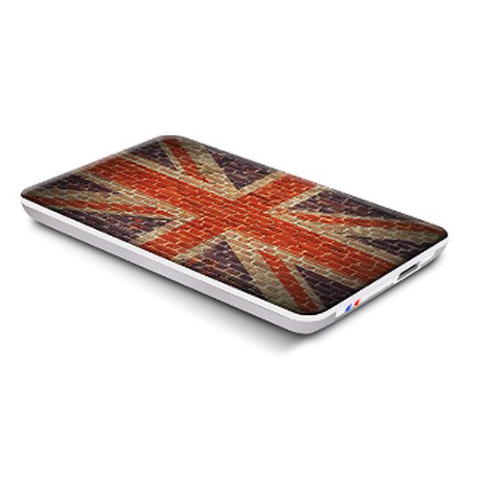 Boîtier pour disque dur Advance BX-UK3 Arty Pop USB 3.0 (UK FLAG)
