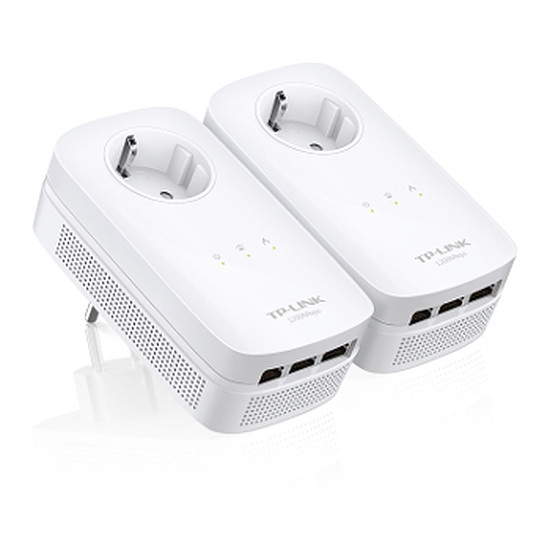 CPL TP-Link TL-PA8030P KIT - Pack 2 CPL1200 3 ports Ethernet