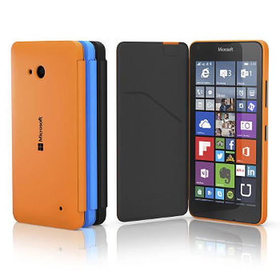 Coque et housse Microsoft Etui Folio (bleu) - Lumia 640 XL