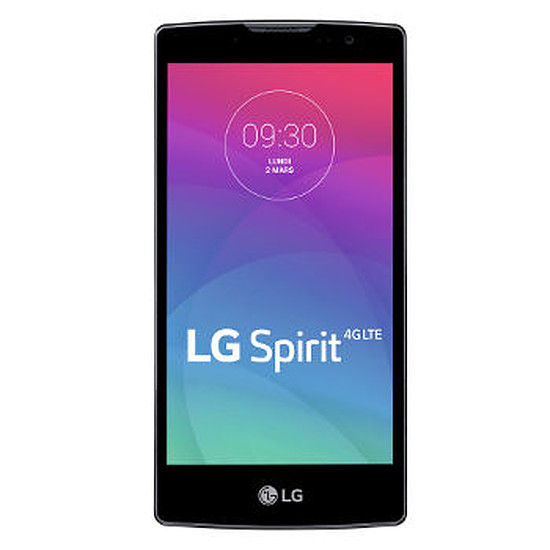 Smartphone et téléphone mobile LG Spirit 4G (titane)