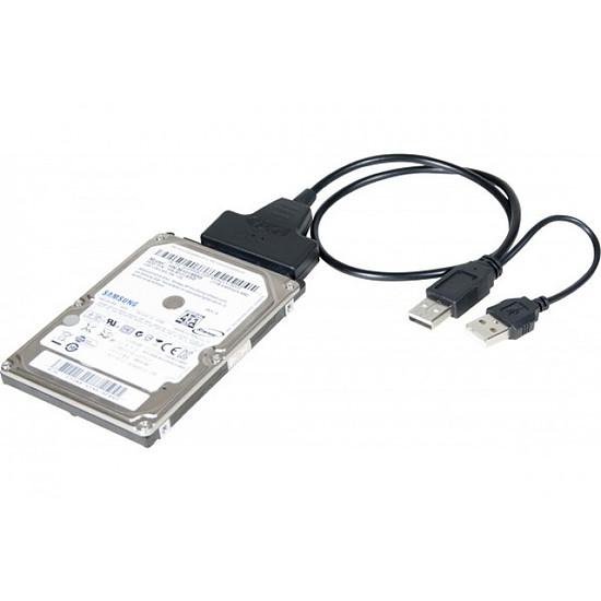 """Serial ATA  Adaptateur USB 2.0 vers SATA 2.5"""" auto-alimenté - Autre vue"""
