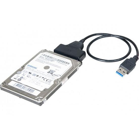 """Serial ATA  Adaptateur USB 3.0 vers SATA 2.5"""" auto-alimenté - Autre vue"""