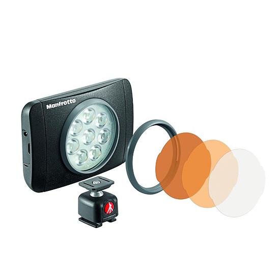 Flash et éclairage Manfrotto Torche LED série Lumimuse 440 Lux
