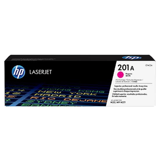 Toner imprimante HP Toner d'encre n°201A (CF403A) - Magenta