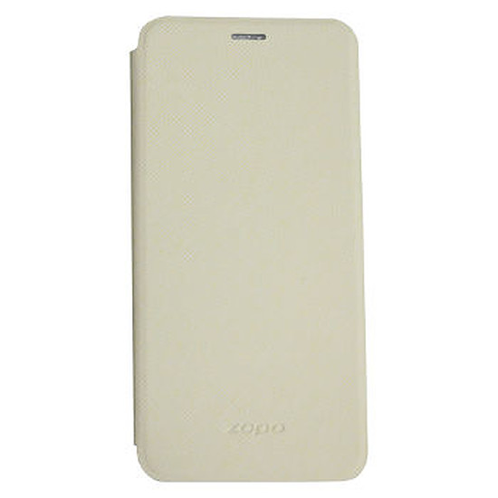 Coque et housse Zopo Flip Cover (blanc) - Zopo ZP530