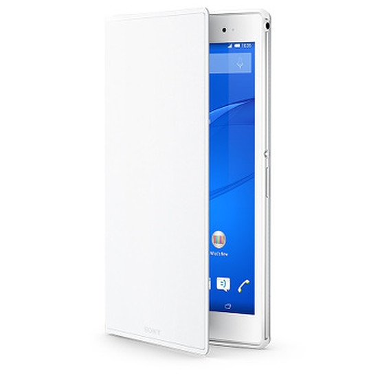 Accessoires tablette tactile Sony Style Cover Stand pour Xperia Tablet Z3 - Blanc