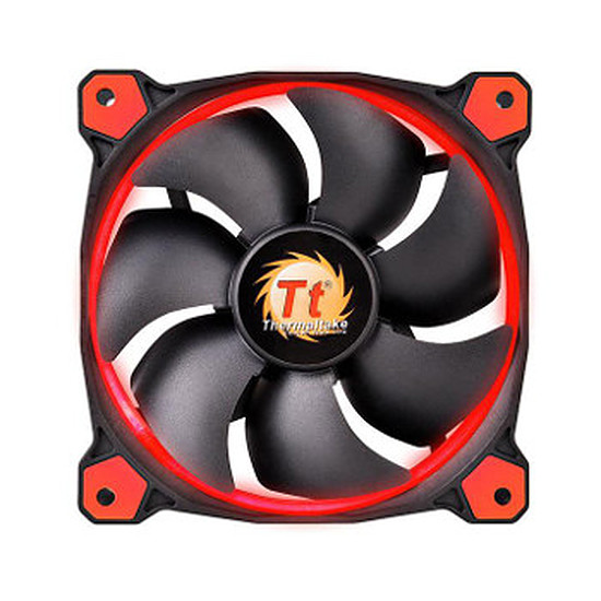 Ventilateur Boîtier Thermaltake Riing 14 LED - Rouge
