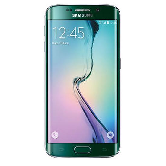 Smartphone et téléphone mobile Samsung Galaxy S6 Edge (vert) - 32Go