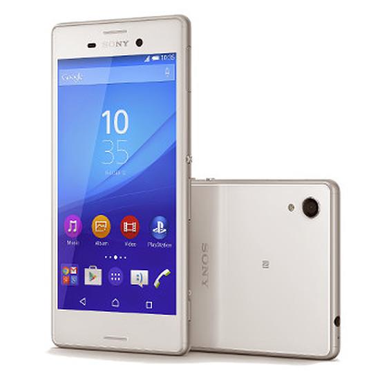 Smartphone et téléphone mobile Sony Mobile Xperia M4 Aqua DUAL (blanc)