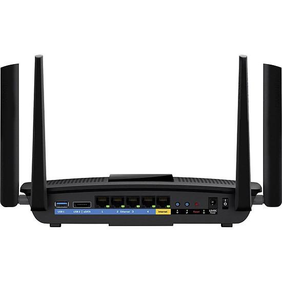 Routeur et modem Linksys EA8500 - Routeur MAX-STREAM WiFi AC2600 MU-MIMO - Autre vue