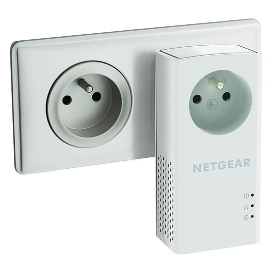 CPL Netgear PLP1200 - Pack de 2 CPL 1200+ (prise intégrée) - Autre vue