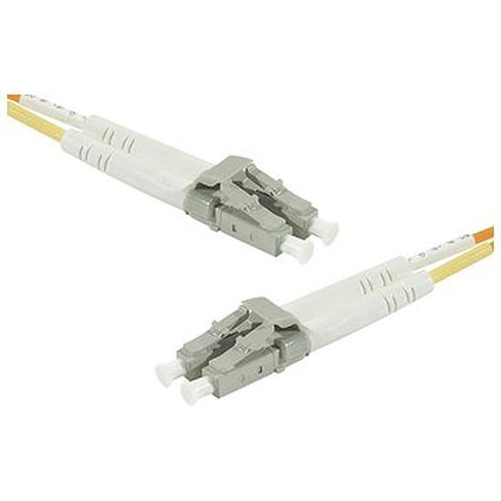 Câble fibre Optique  Câble fibre optique LC/LC duplex 9/125 OS2 - 5 m