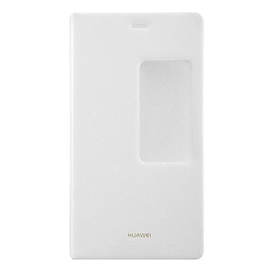 Coque et housse Huawei Etui View Flip case (blanc) - Huawei P8