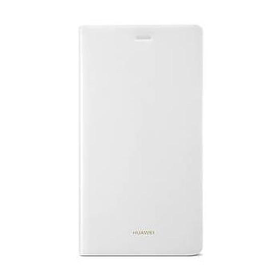 Coque et housse Huawei Etui Flip case (blanc) - Huawei P8 Lite