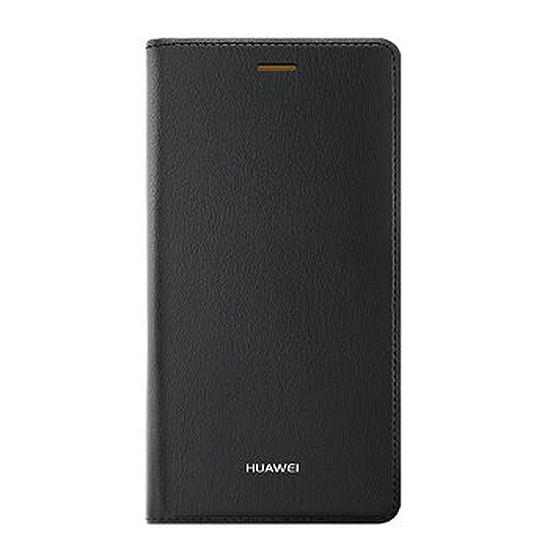 Coque et housse Huawei Etui Flip case (noir) - Huawei P8 Lite
