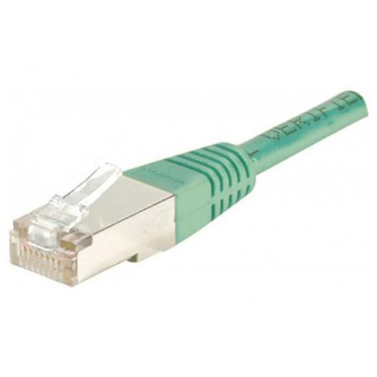 Câble RJ45 Cable RJ45 Cat 6 FTP (vert) - 5 m