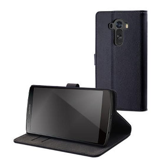 Coque et housse Muvit Etui à rabat (noir) - LG G4