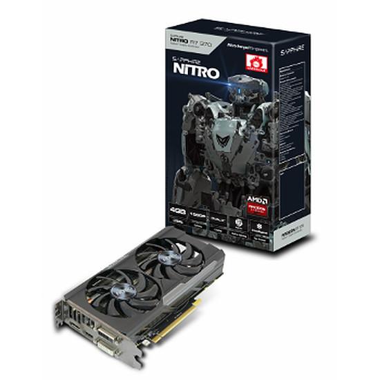 Carte graphique Sapphire Radeon R7 370 Nitro Dual-X OC - 4 Go