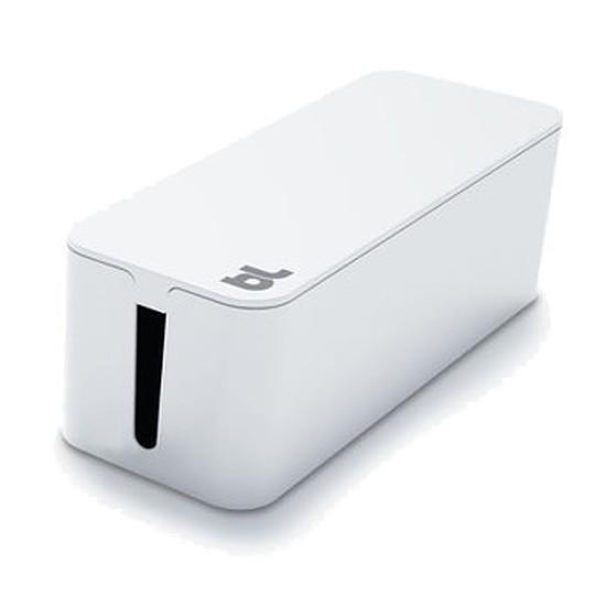 Passe câble et serre câble Bluelounge CableBox Blanc Boite de rangement