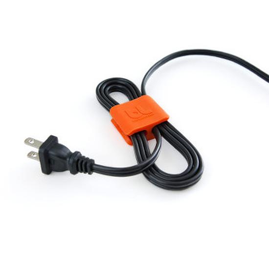 Passe câble et serre câble Bluelounge CableClip Medium - Pack x4