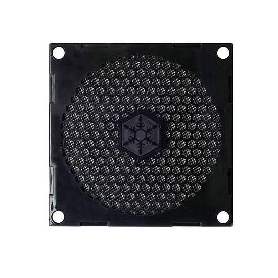 Grille ventilateur PC Silverstone Grille et filtre ventilateur 80 mm