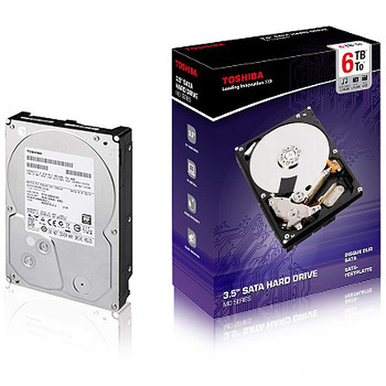 Disque dur interne Toshiba MD Series - 6 To (PX3013E-1HR0)