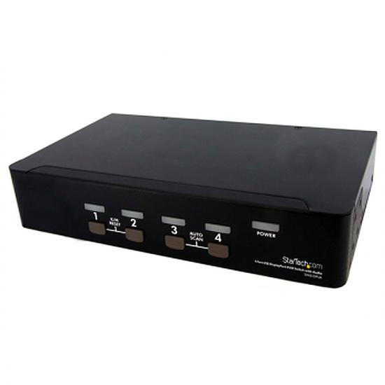 KVM StarTech.com Commutateur KVM DisplayPort USB 4ports avec audio